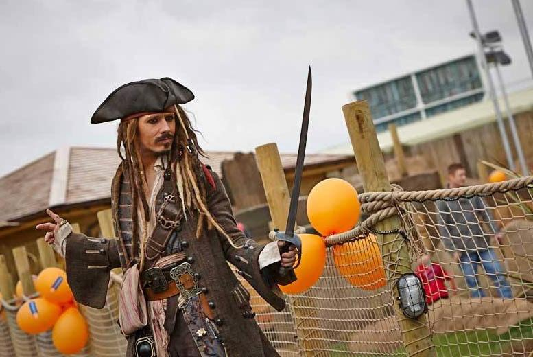 From £8 for an 18-hole pirate adventure golf experience for 2 or 4 including a hot drink at Pirate Island Adventure Golf, Nottingham - save up to 59%