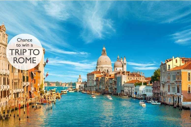 From £69pp (from Weekender Breaks) for a two-night 4* Venice break including flights and a chance to win a trip to Rome, from £99pp for three nights - save up to 50%