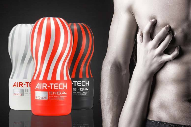 £14.99 instead of £24.99 (from Tenga) for a Tenga Air-Tech reusable male stroker - choose the Gentle, Regular or Strong model and save 40%
