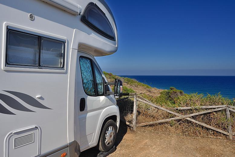 £499 for a luxury seven-night motorhome hire for two, £549 for a medium motorhome for four, £599 for a large motorhome for six with National Motorhomes