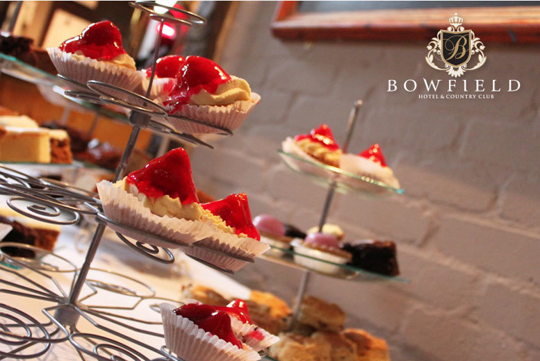 £19 instead of £39.80 for afternoon tea for two with Prosecco and access to leisure facilities at Bowfield Hotel & Country Club, Glasgow - save 52%