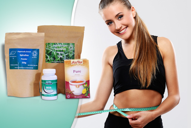 £21 instead of £35 (from Detox.me) for an Inner Detox Box inc. wheatgrass, milk thistle and spirulina - cleanse and save 40%