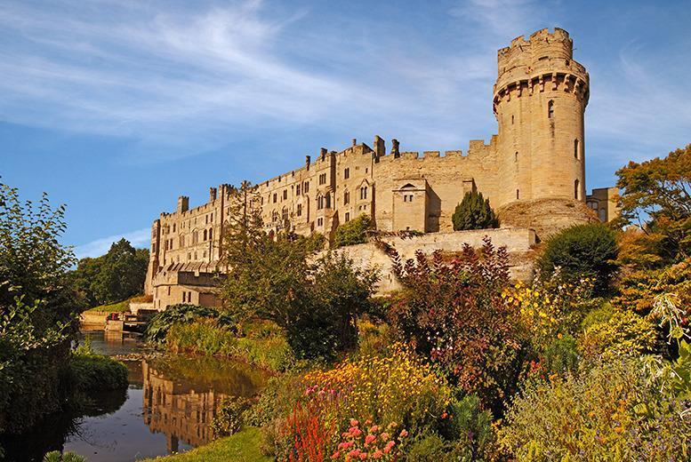 £99 (at the Holiday Inn Express, Redditch) for a 1-night family break for 2 adults and 2 children including breakfast and entry to Warwick Castle!