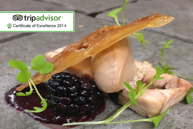 £59 instead of up to £110 for a 5-course tasting menu for 2 at AA Rosette restaurant The Craven Heifer, Addingham - save up to 46%