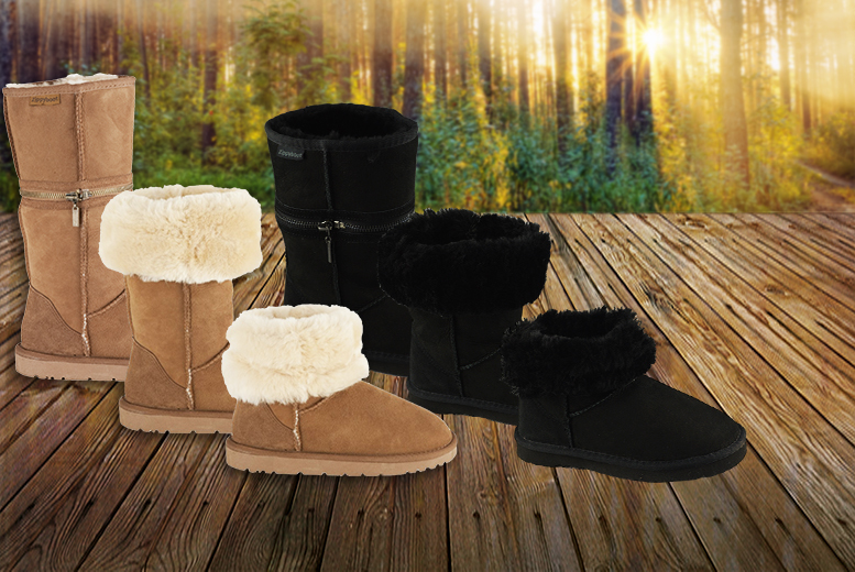£14.99 instead of £150 (from Shoeprimo) for a pair of kids' sheepskin boots - choose from 3 designs & save 90%