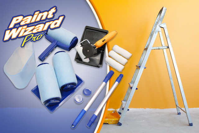 £19 for a 12-piece Paint Wizard Pro decorating tool from Wowcher Shop + FREE DELIVERY