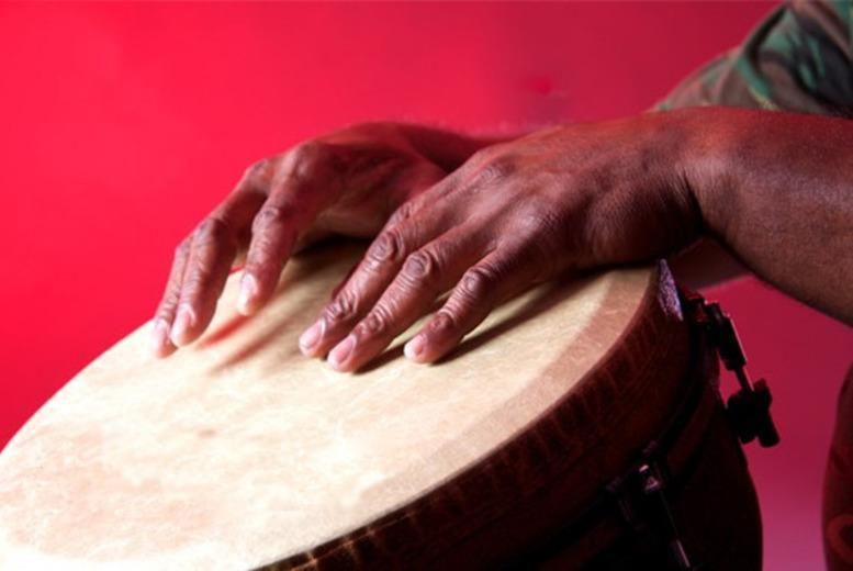 £9 instead of £20 for a 2-hour African drumming workshop or £18 to include a 90-min dance workshop with London African Drumming, Liverpool Street - save up to 55%