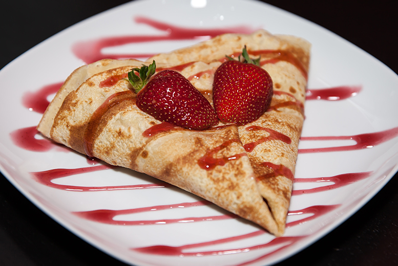 £4.50 instead of up to £8.25 for a crêpe and drink or slice of cheesecake and milkshake for one person, or £9 for two people at Love 'A' Slice, Beckenham - save up to 45%