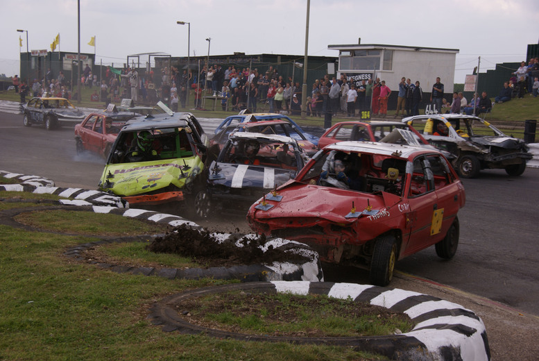 £11 for two adult tickets to an Easter Special stock car racing event, or £16 for a family ticket at Skegness Stadium - save up to 52%