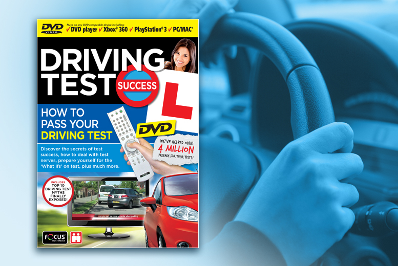 £9.99 instead of £28 (from eOutlet) for a 'How to Pass your Driving Test' DVD - save 67%