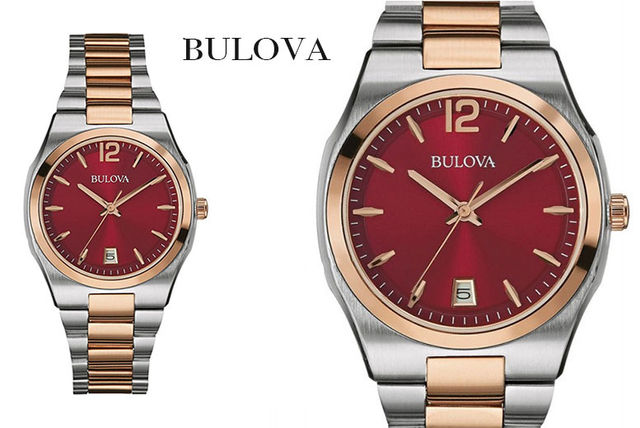 Ladies Bulova Two-Tone Watch