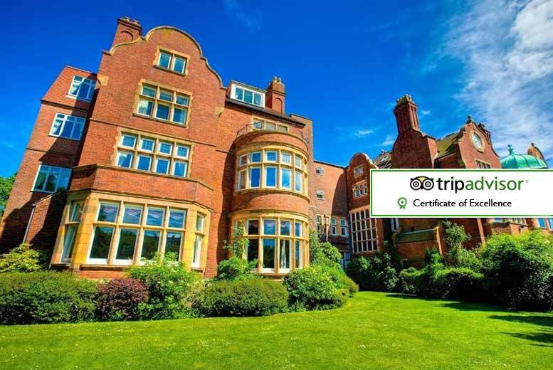 £59 (at The Burlington Hotel) for an overnight stay for two including breakfast, bottle of wine and 2pm check out, or stay two nights for £89 - save up to 57%