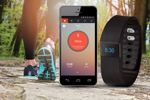 TW64 Smart Bluetooth Activity Bracelet