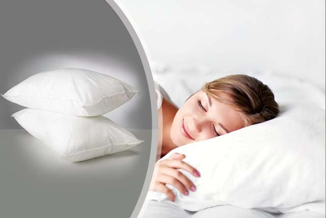 £7.49 instead of £19.98 (from Millprice) for a pack of 2 luxury, non-allergenic pillows - sleep tight and save 63%