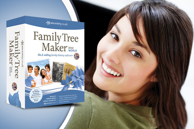 £39.99 instead of £102 (from Avanquest Software) for the Family Tree Maker® 2012 World Edition - save 61%