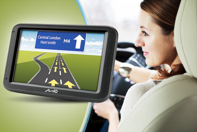 £79 instead of £99.99 for a Navman Mio M613 satellite navigation system with lifetime maps from Wowcher Shop - save 21%