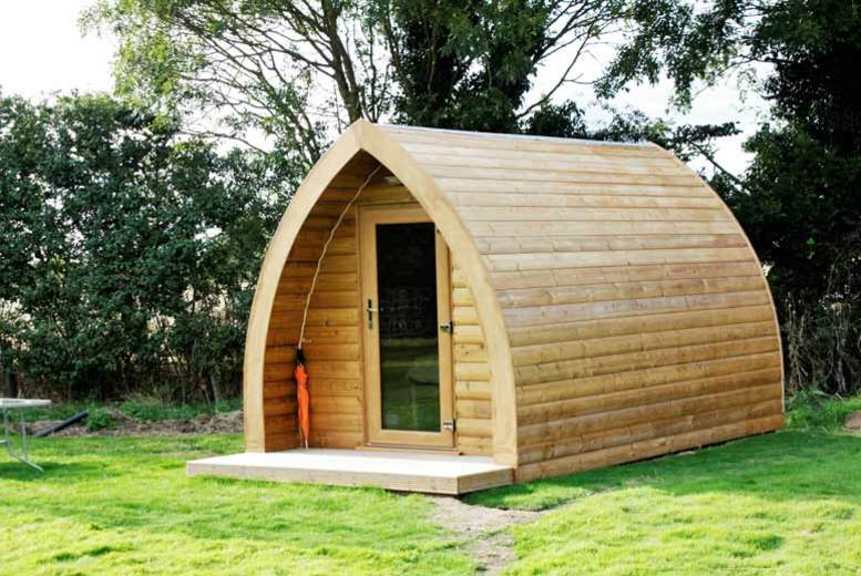 £49 instead of £100 for a two-night glamping break for up to three people at Wolds Glamping, Pocklington - save 51%