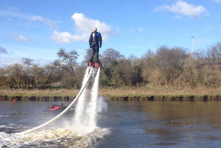 £69 instead of £95 for a 30-minute Flyboard Fun flyboarding experience at Frodsham Watersports Centre, Cheshire - save 27%