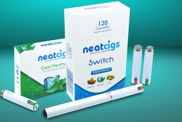 £9.99 instead of £29.98 (from Neat Cigs) for a SWITCH electronic cigarette starter kit in black or white equivalent to 320 cigarettes - save 67%