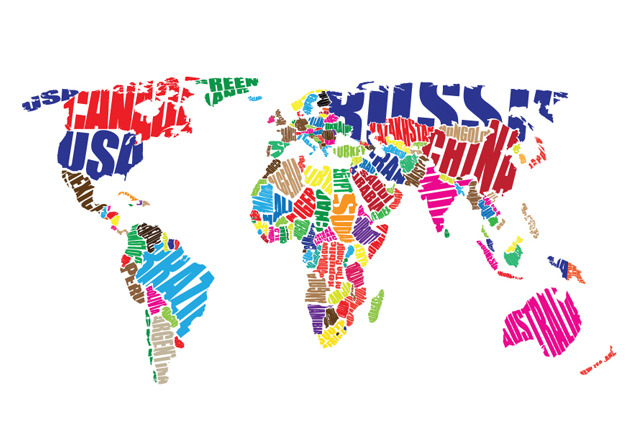 "£19.99 instead of £64.99 (from Dip into Sales) for a 24"" x 16"" colourful world map art canvas, or £29.99 for a 24"" x 36""canvas - save up to 69%"