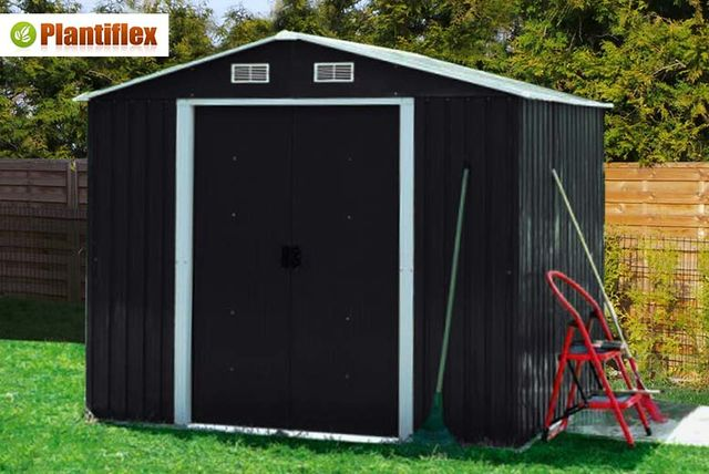 Plantiflex® Garden Shed   3 Sizes U0026 2 Colours!