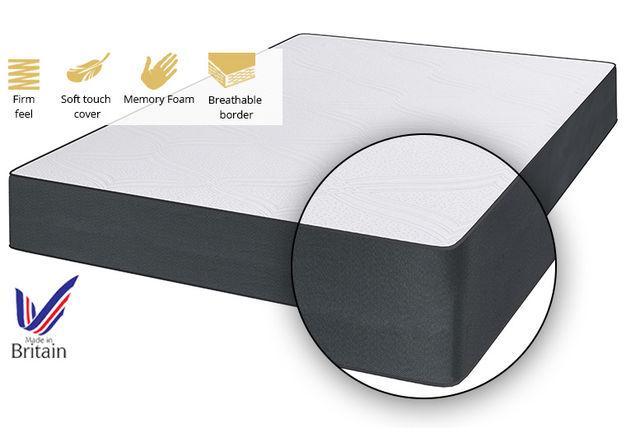 Platinum Luxe Memory Foam Mattress