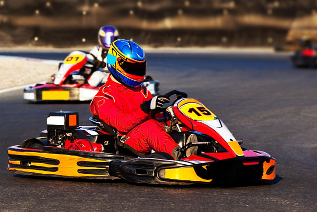 £12 instead of £25 for a 30-minute indoor go-karting experience at Pole Position Indoor Karting, Wetherby - save 52%