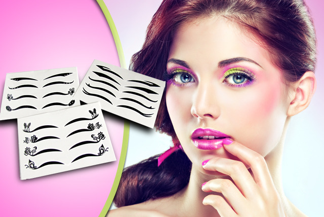 £5 for 3 packs of temporary eyeliner tattoos from EggSnog - get the perfect look