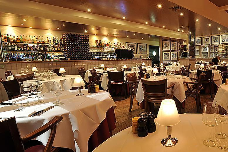 £49 instead of £89 for a 3-course meal for 2 including a cocktail each at Marco Pierre White's London Steakhouse Co., 2 London locations from Buyagift - save 45%