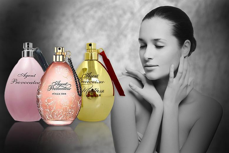 £18 for a 50ml bottle of Agent Provocateur Original, Pétale Noir or Maitresse eau de parfum from Wowcher Direct - save 61%