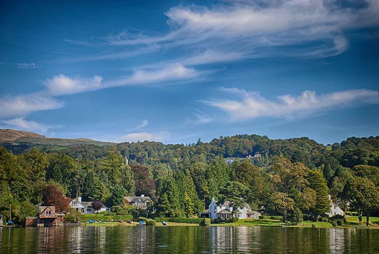 £79 for an overnight Cumbria stay for two with breakfast and Lake Windermere cruise, £119 for two nights, £149 for three nights or £189 for four nights - save up to 39%