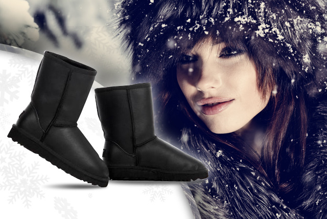 £49 instead of £150 (from Evaniy Accessories) for a pair of water-resistant black sheepskin boots - save a boot-iful 67%