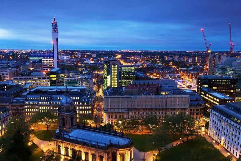 From £99 (at Birmingham Serviced Apartments) for an overnight apartment stay, from £159 for two night, from £249 for three nights - save up to 42%