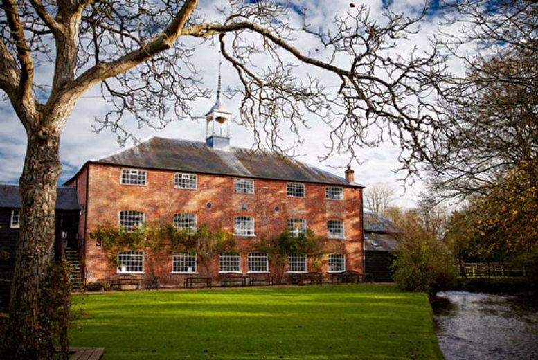 £5 instead of £13 for entry and a guidebook for two, or £7 for a family of five at Whitchurch Silk Mill, Hampshire - save up to 62%