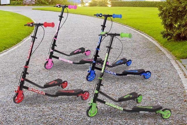 3 wheel push scooter
