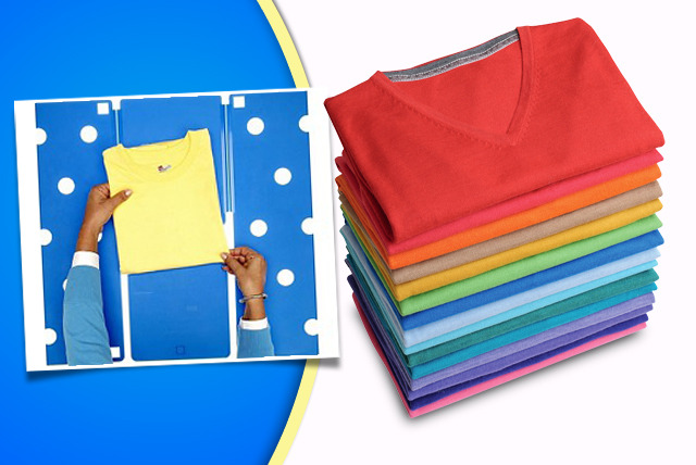 £10 instead of £31 (from SVB Shops) for Sheldon's Folding Shelf - flip your shirts, blouses and jumpers and save 68%