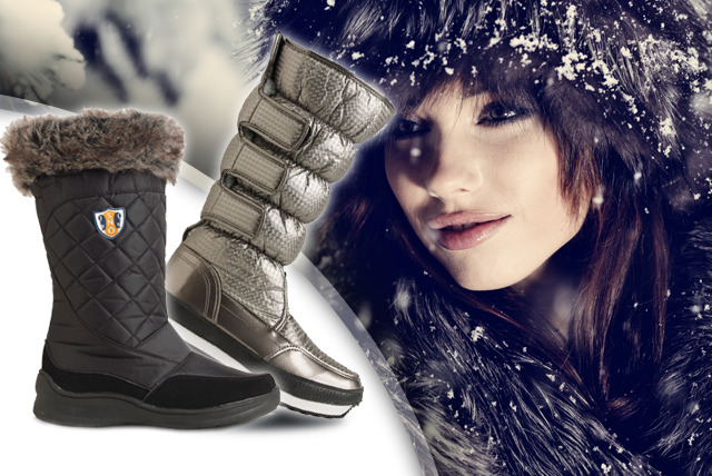 £19.99 instead of up to £60 (from Derby House) for a pair of Snö Polar boots in black or silver - keep your feet cosy and save up to 60%