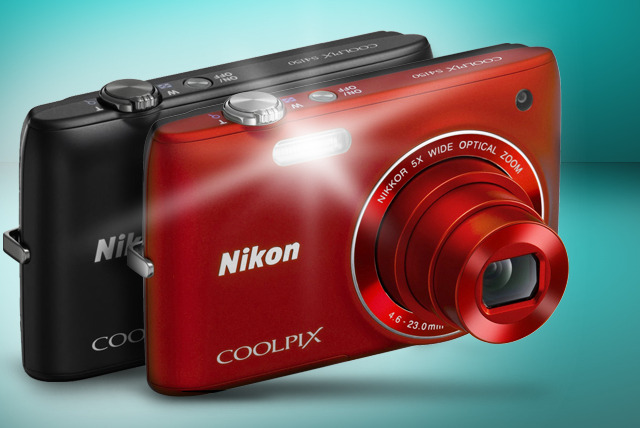 £69 for a Nikon Coolpix S4150 or Nikon Coolpix S6100 digital camera in red or black with Wowcher Shop - delivery is included!