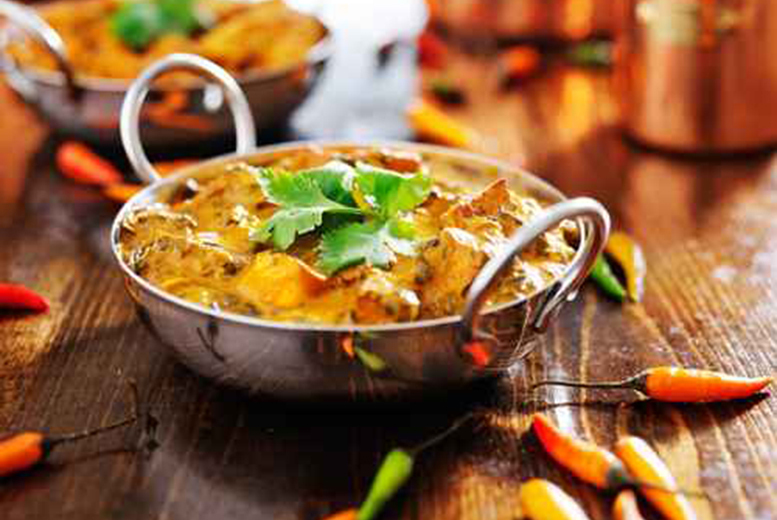 DDDeals - £9 instead of £23.80 for two-course Indian dining for two people, £17.90 for four people at Spices Indian Restaurant, Hartlepool - save up to 62%