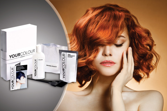 £8 instead of £16.20 (from Your Colour) for a professional home hair colour kit - get salon quality hair & save 51%