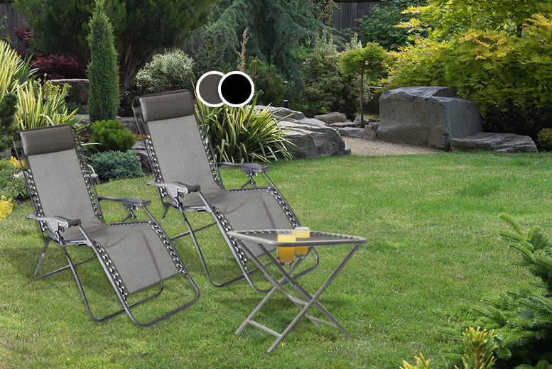 Wowcher deal instead of 124 for a 3 piece for Garden furniture set deals