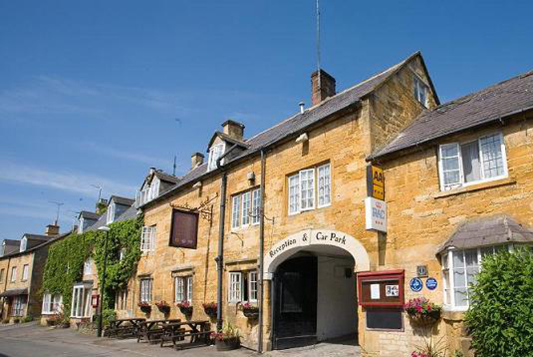 £49 (at the Crown Hotel, Blockley) for a 1nt stay for 2 including full English breakfast, £98 for 2nts