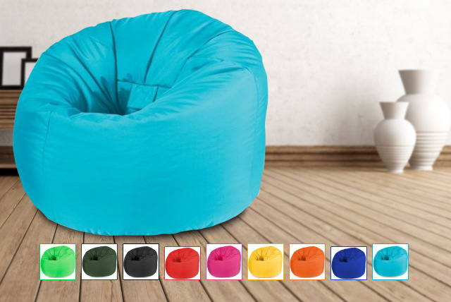 £39.99 instead of £99.99 (from UK Beanbags) for an indoor/outdoor pre-filled beanbag in a choice of colours - save 60%