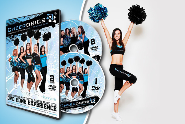 £14 instead of £23.99 (from Cheerobics® ) for a cheerleading workout DVD complete with pom-poms – save 42%