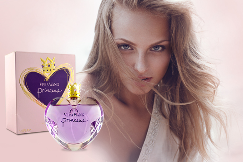£24 instead of £56.01 for a 100ml bottle of Vera Wang Princess eau de toilette from Wowcher Direct - save 57%