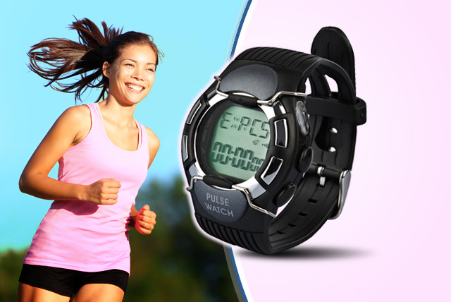 £12.99 instead of £49.99 (from Genee Wenee) for a heart rate monitoring watch - get your pulse racing with a saving of 74%