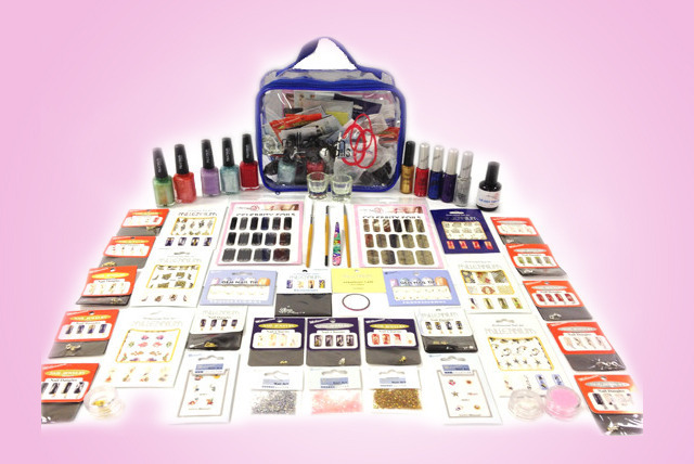 £35 instead of £166.18 (from Millennium Nails) for a 41-piece Mega Millennium Nail Art Kit including a case - save 79%
