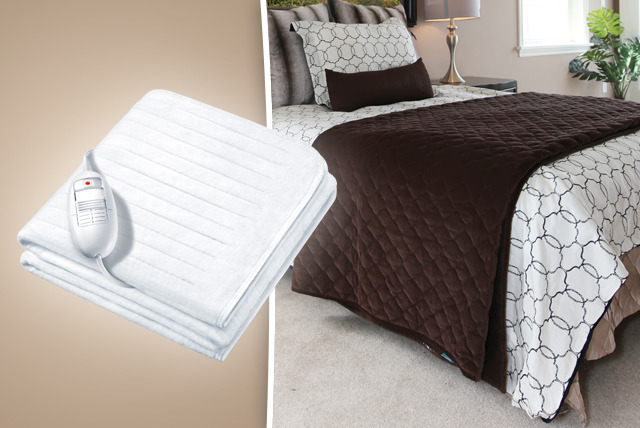 £19.99 instead of £49.99 (from AMS Global) for a single electric underblanket or £24.99 for a double - save up to 60%