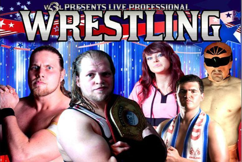 £6 instead of £13 for a ticket to see the World Wide Wrestling League live - choose from 8 locations & save 54%