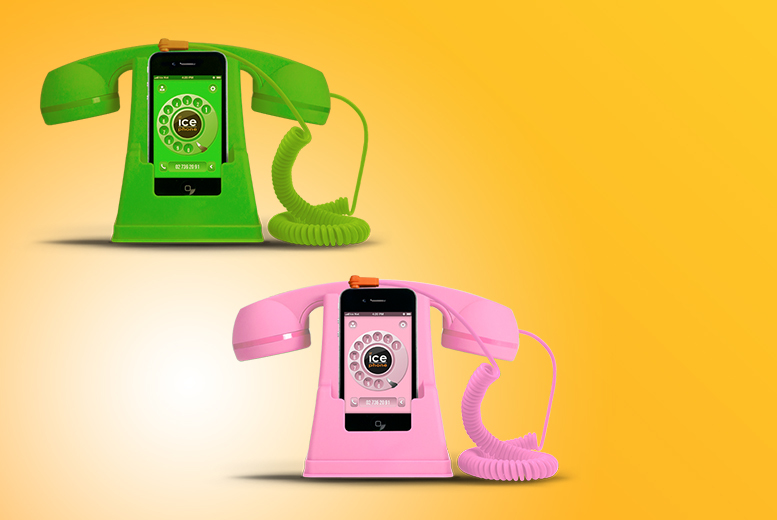 £6 instead of £30 (from Shade Station) for a retro-style Ice-Phone - save 80%
